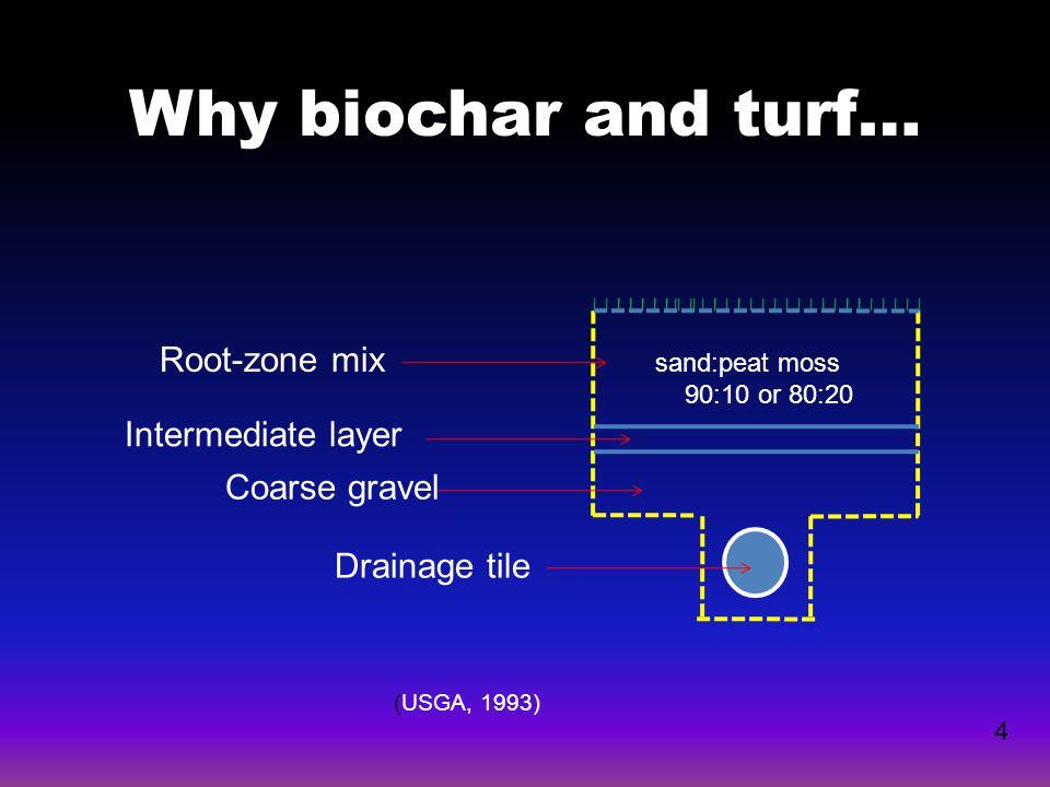 15 LEACHATE pHpH 0 5 10 15 20 25 Biochar percentage (v/v)