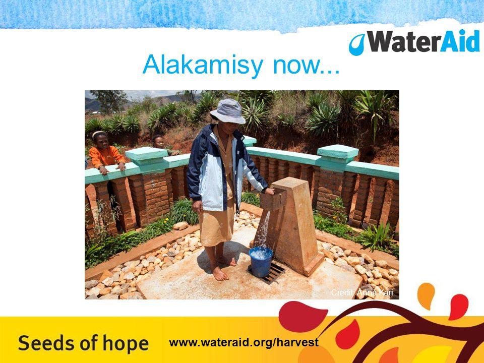 Alakamisy now... Credit: Anna Kari www.wateraid.org/harvest