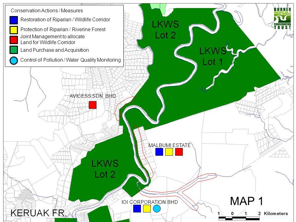 LADANG KINABATANGAN – SAWIT KINABALU – PRIVATE/STATELAND (Important and Critical Corridor for Elephant Movement to Deramakot – Kinabatangan)