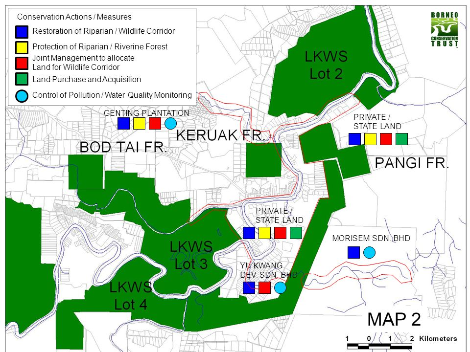 PRIVATE/STATELAND that is still covered by forest (Important and Critical Corridor for Elephant Movement (From Lot 2 to Lot 3 And lot 4))
