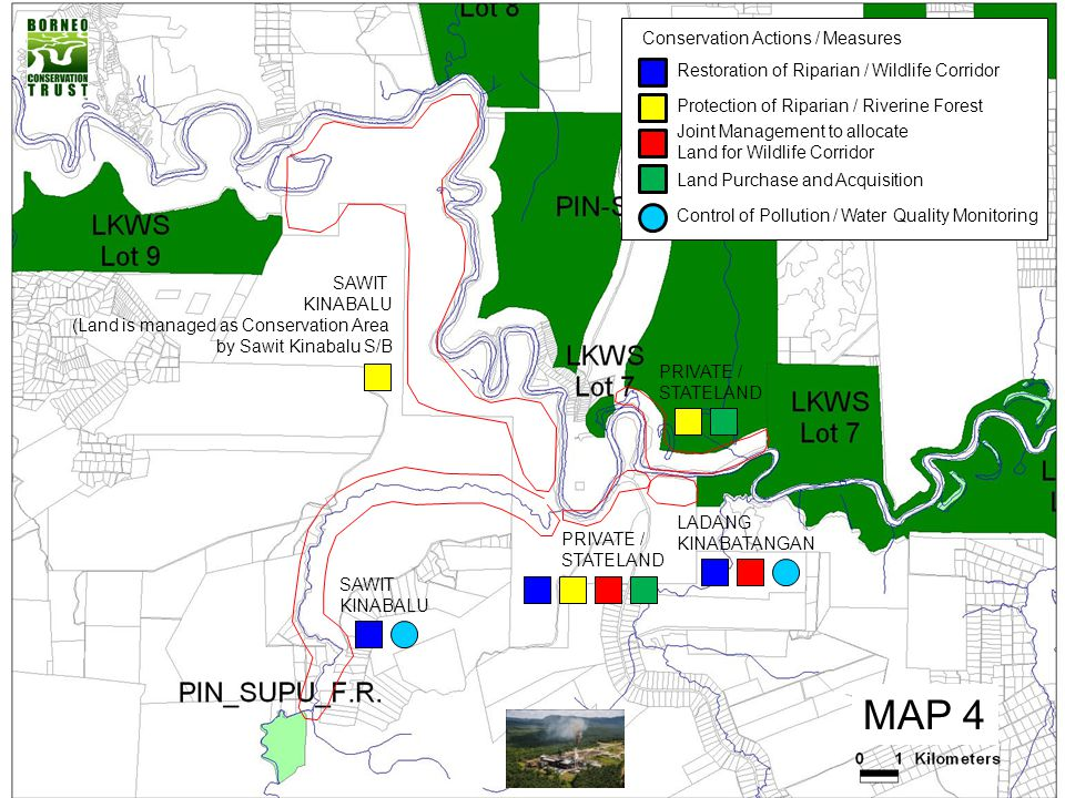 PONTIAN PLANTATION (ALONG THE RIPARIAN RESERVE) (Important and Critical Corridor for Elephant Movement (From Lot 3/4 to Lot 5))