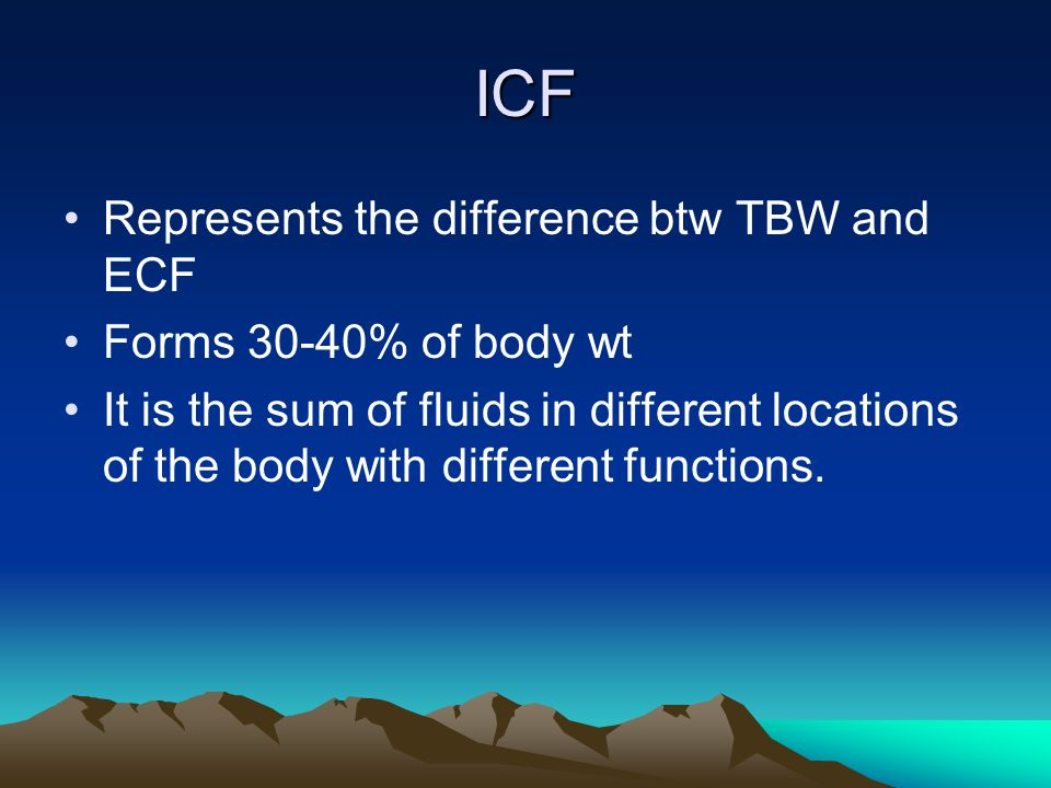 CF N MX OF HYPONATREMIA Can be either symptomatic or asymptomatic Often times occurs along with dehydration when it is referred to as hypotonic dehydration Includes nausea, vomiting,muscle twitching Na replacement using the formular wt* deficit *0.6 Correction done over 24hrs ½ in the 1 st 8hrs and the other ½ next 16hrs.