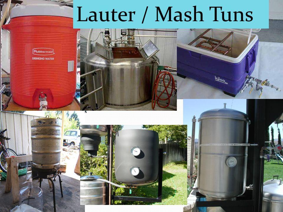 Lauter / Mash Tuns