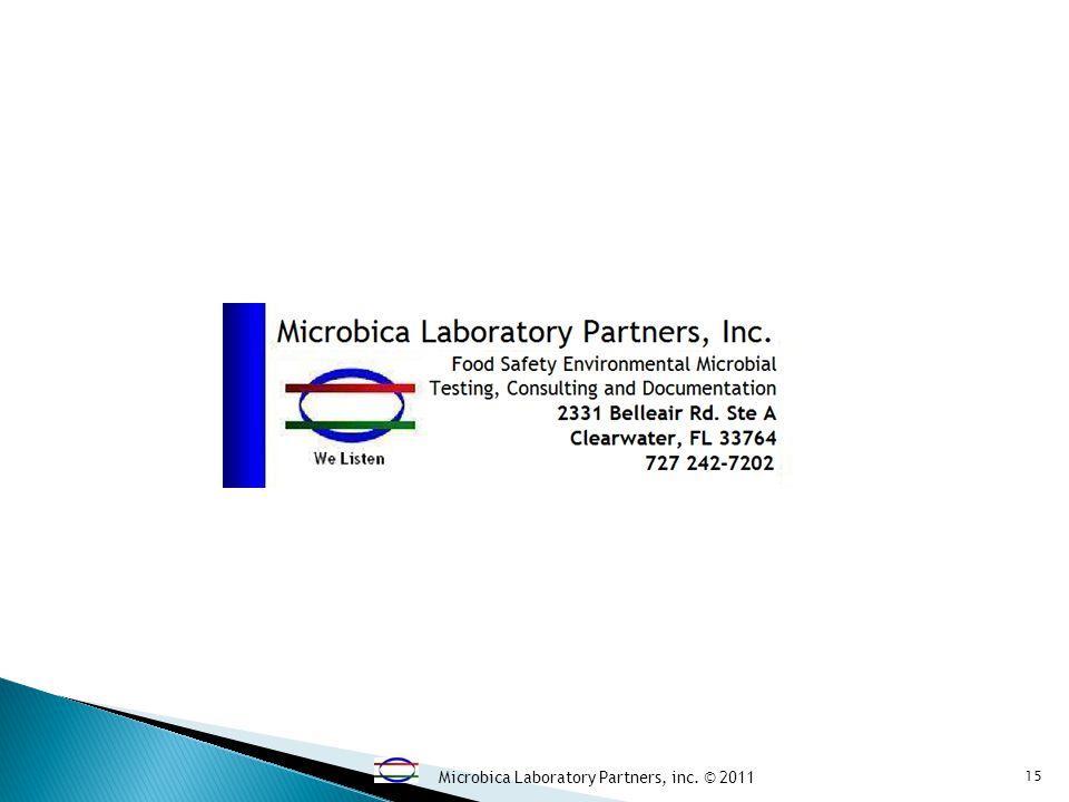Microbica Laboratory Partners, inc. © 2011 15