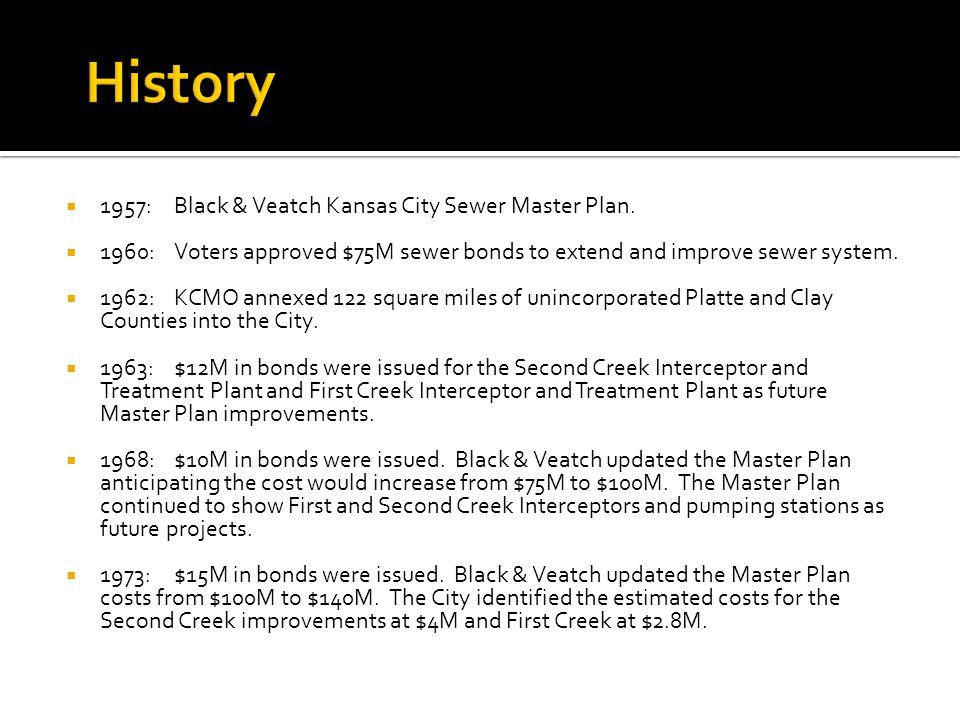 1957:Black & Veatch Kansas City Sewer Master Plan.