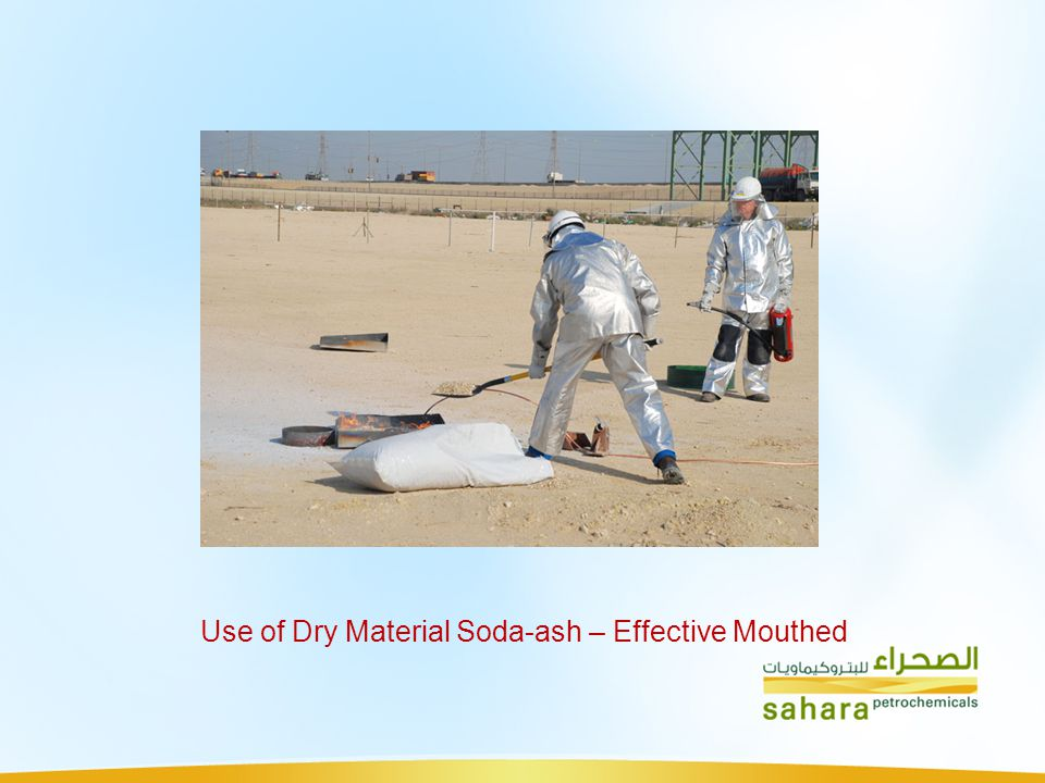 Use of Dry Material Soda-ash – Effective Mouthed