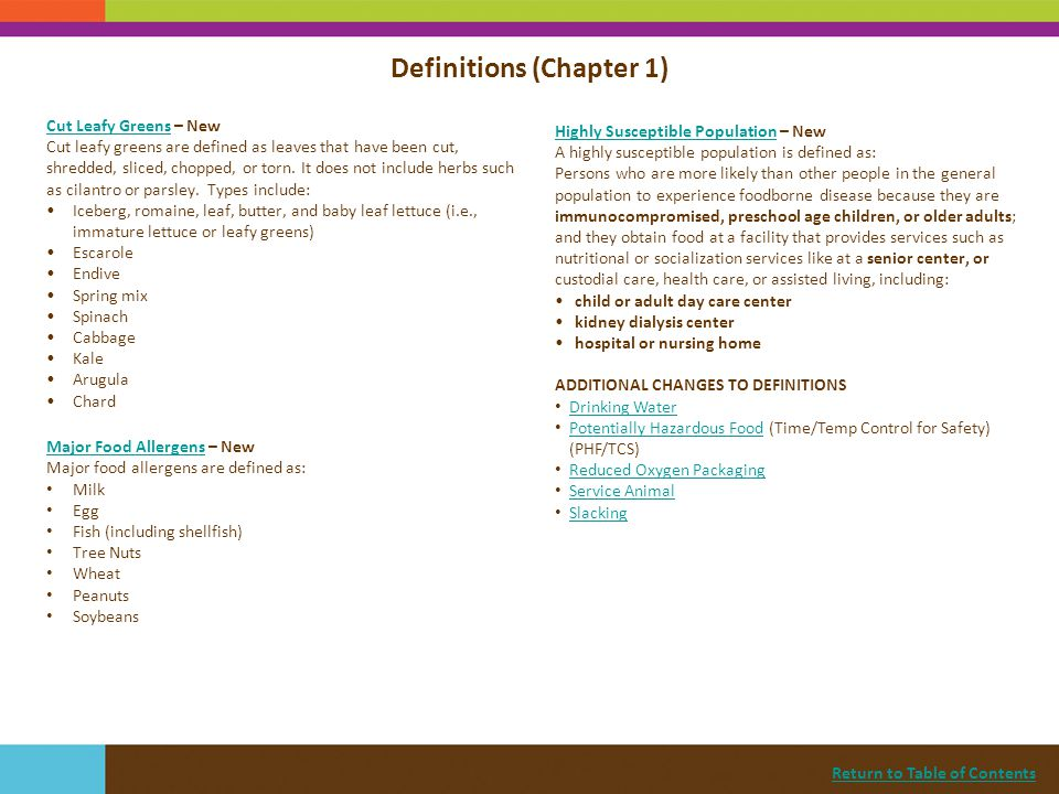 Return to Table of Contents Demonstration of Knowledge (*Sec.