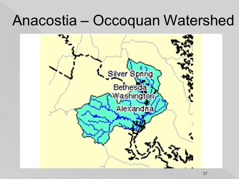 Anacostia – Occoquan Watershed 37