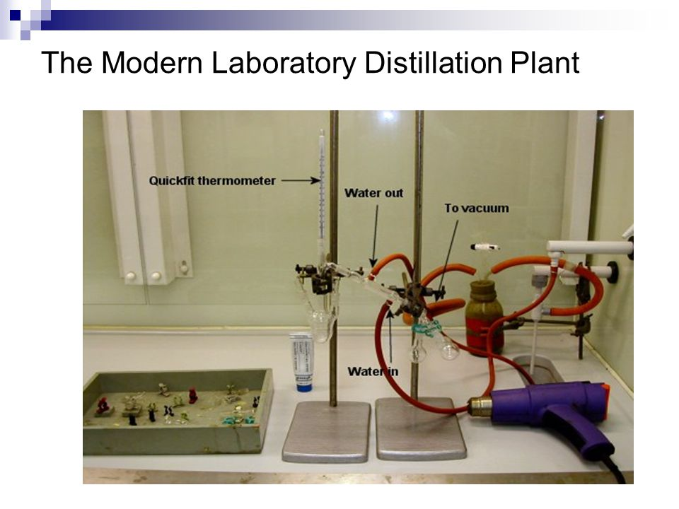 The Modern Laboratory Distillation Plant
