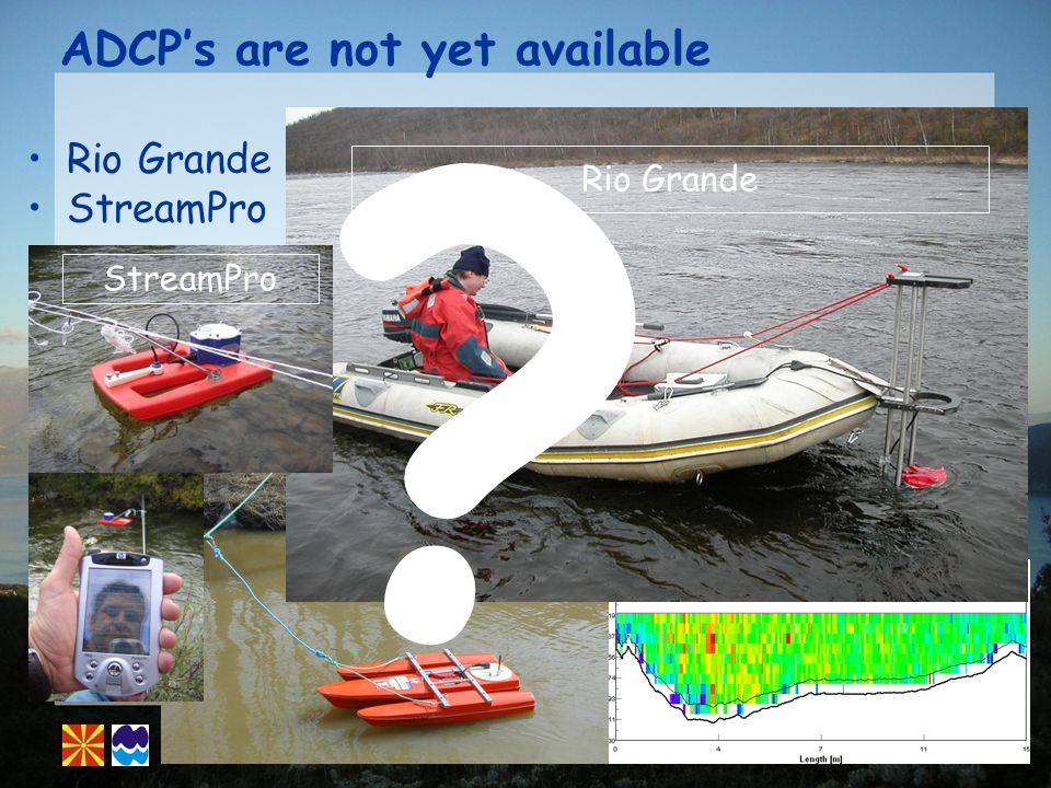 ADCPs are not yet available Rio Grande StreamPro Rio Grande StreamPro