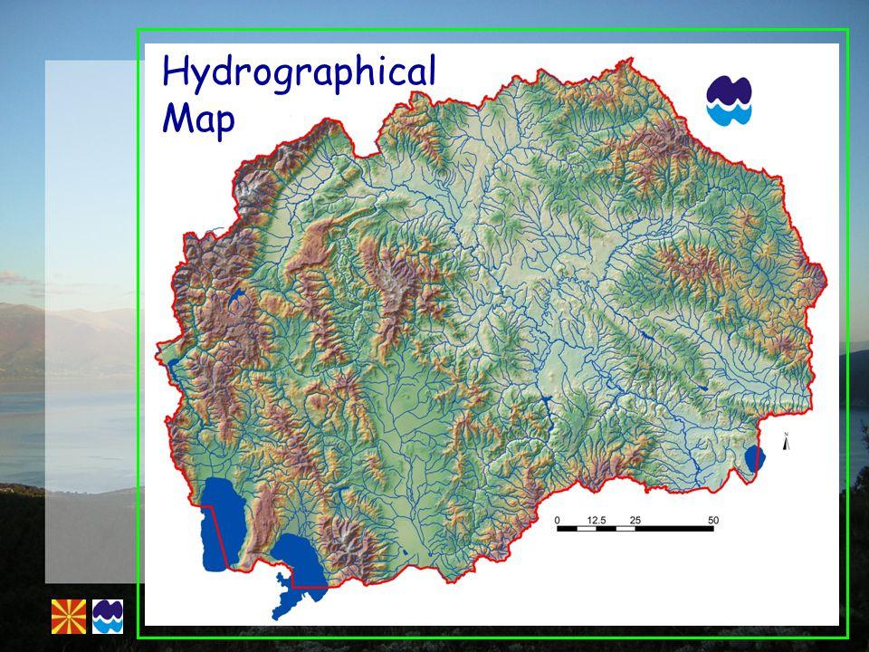 River Catchment Map Vardar: 20442km 2 Strumica, Dvoriska& Lebnica: 1632km 2 Crn Drim: 3305km 2 Binacka Morava: 48km 2