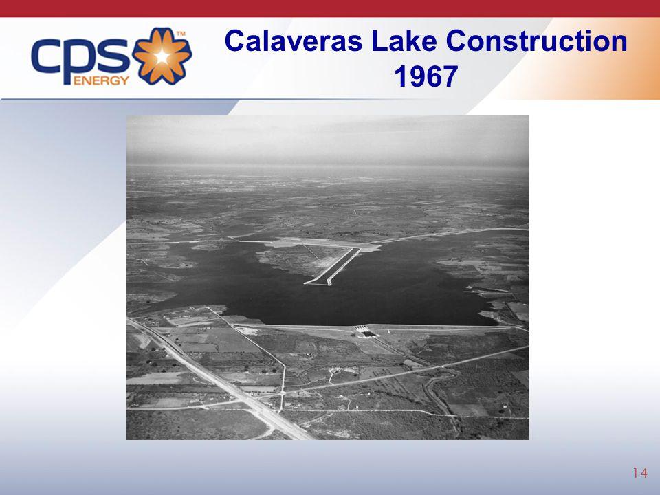 Calaveras Lake Construction 1967 14