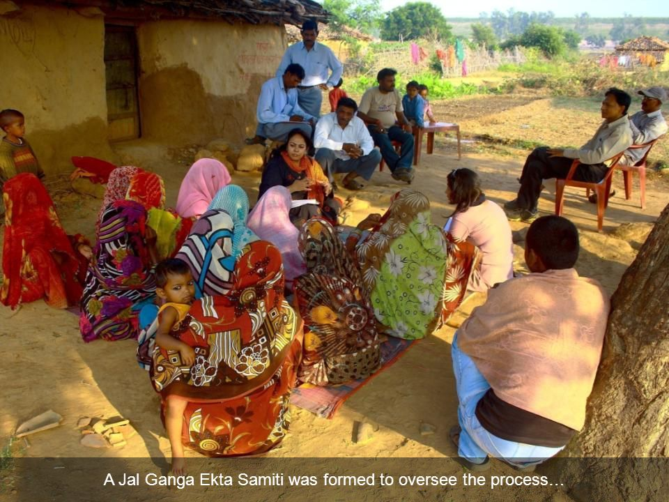 A Jal Ganga Ekta Samiti was formed to oversee the process…
