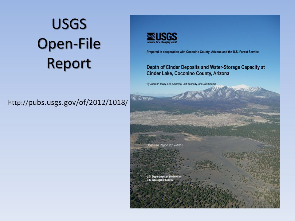 USGS Open-File Report   pubs.usgs.gov/of/2012/1018 /
