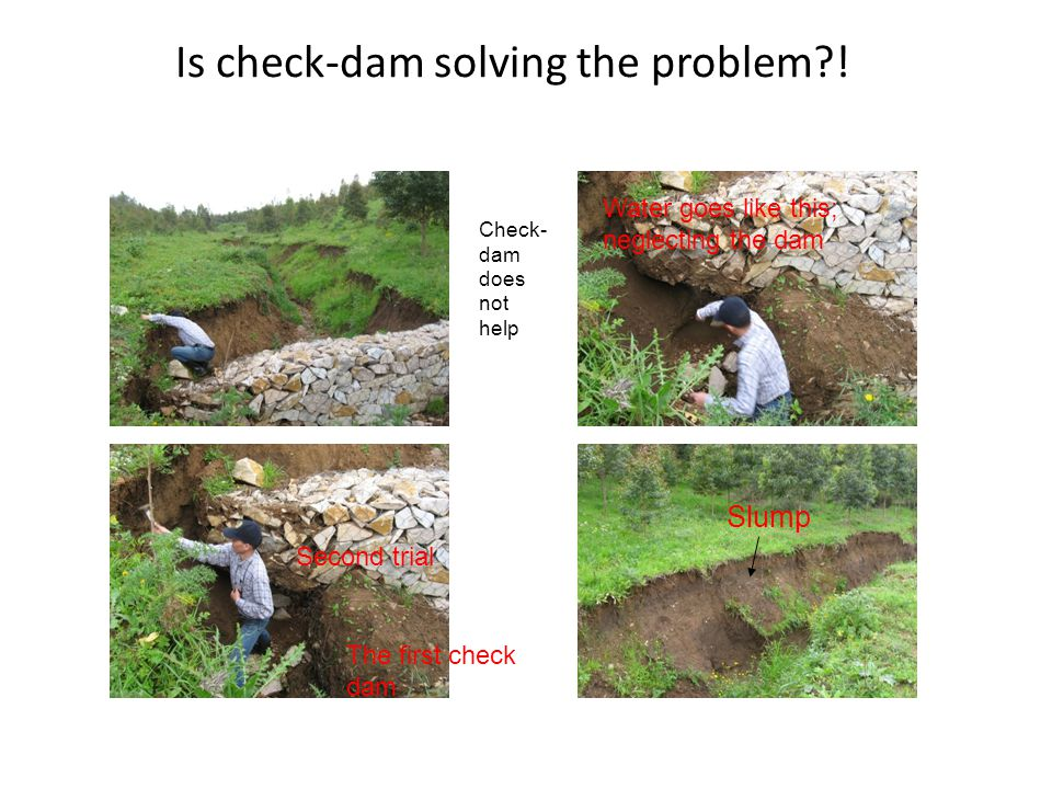 Is check-dam solving the problem?.