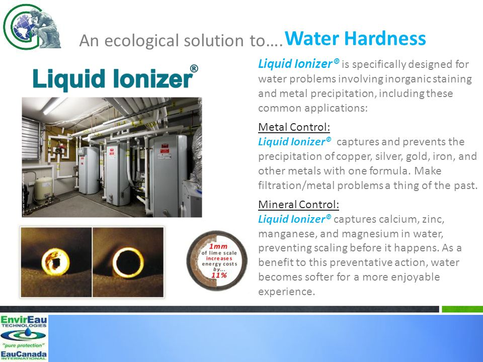 An ecological solution to….