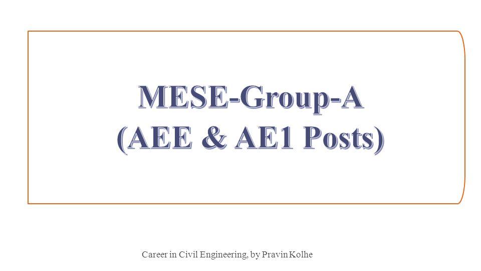 Career in Civil Engineering, by Pravin Kolhe 14