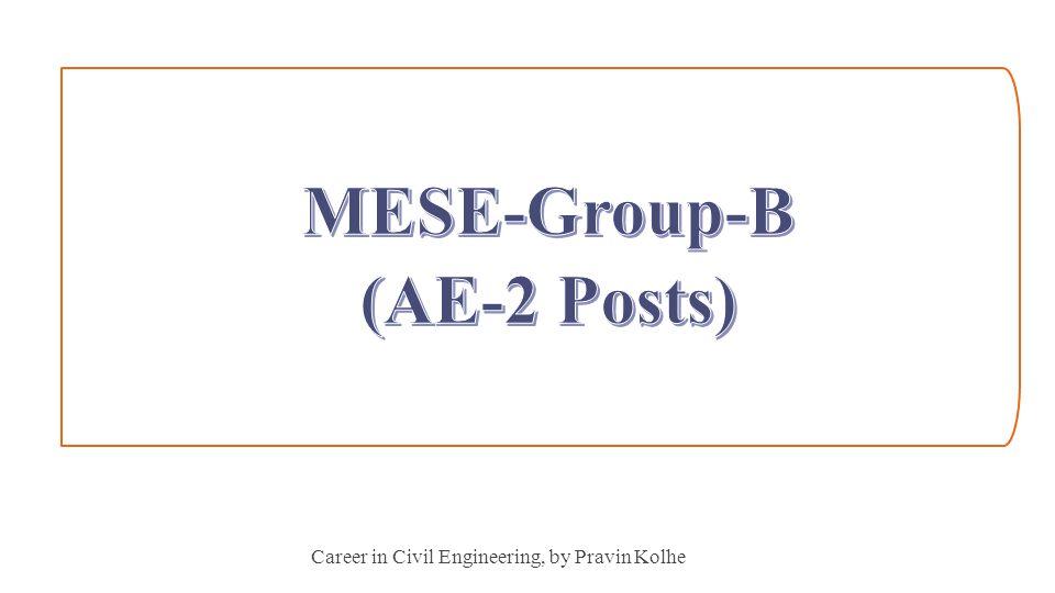 Career in Civil Engineering, by Pravin Kolhe 23