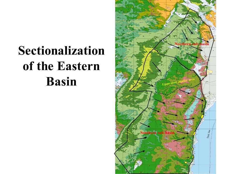 Sectionalization of the Eastern Basin