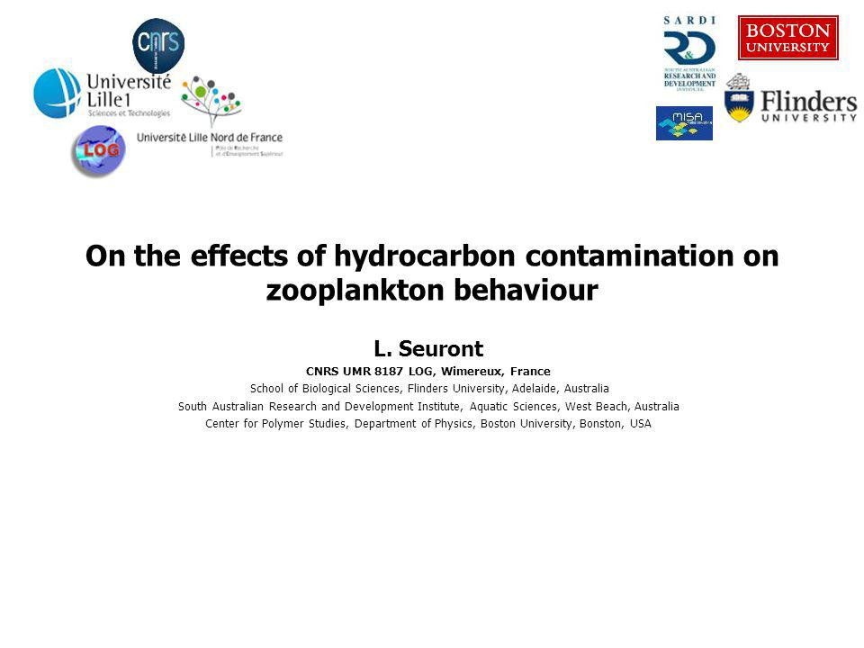 On pernicious hydrocarbon contaminations Different tools are needed to assess the impact of pernicious invisible contaminants
