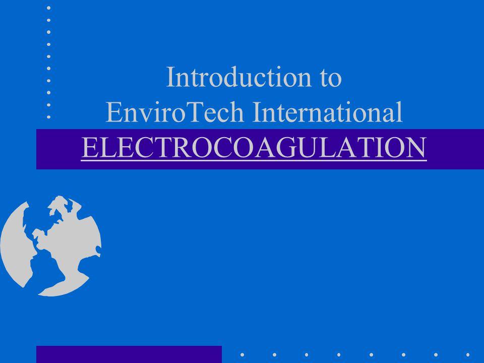 Electrocoagulation Concepts