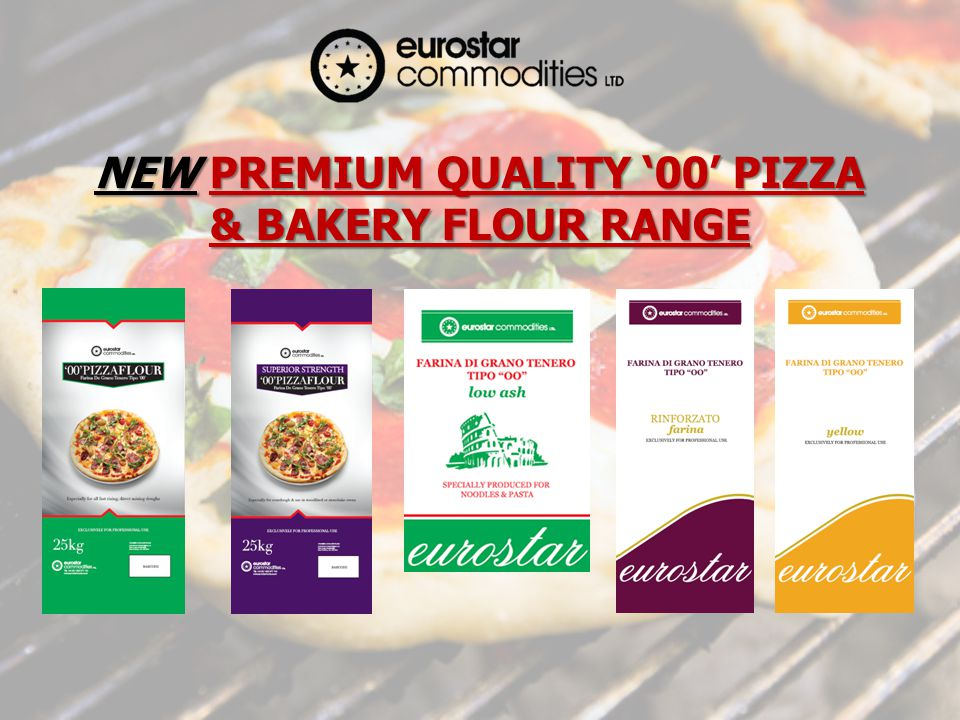 NEW PREMIUM QUALITY 00 PIZZA & BAKERY FLOUR RANGE