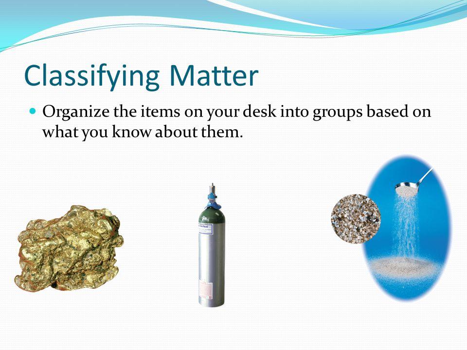 September 11, 2009 Obj – Understand Matter Warm-Up – Differentiate between a pure substance and a mixture.