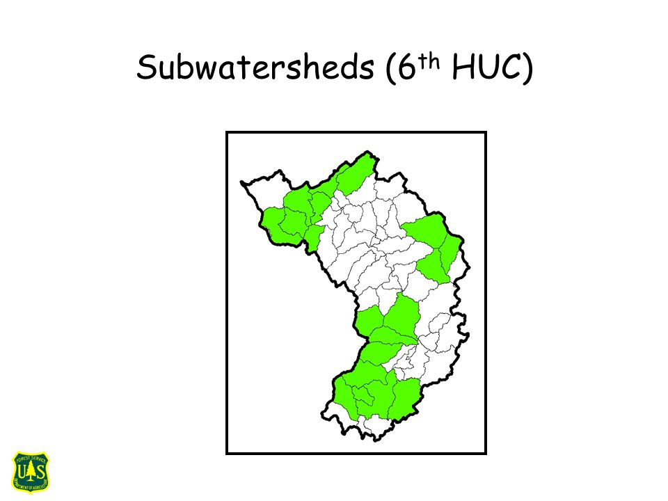 Subwatersheds (6 th HUC)