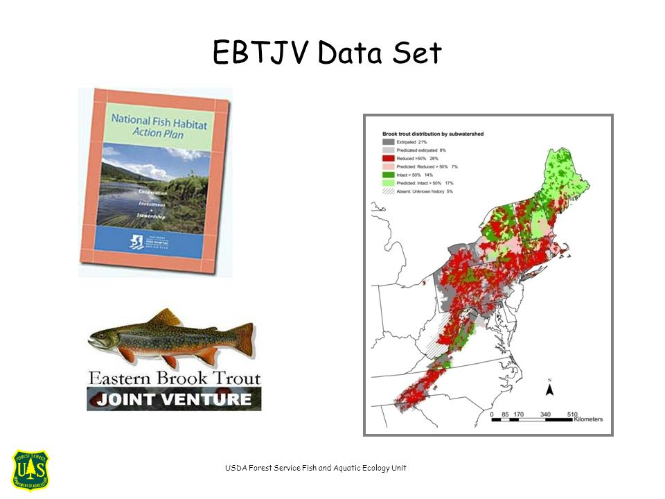 EBTJV Data Set USDA Forest Service Fish and Aquatic Ecology Unit