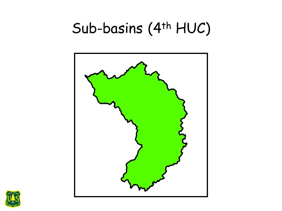 Sub-basins (4 th HUC)