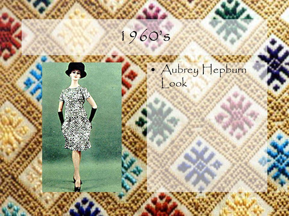 1960s Aubrey Hepburn Look