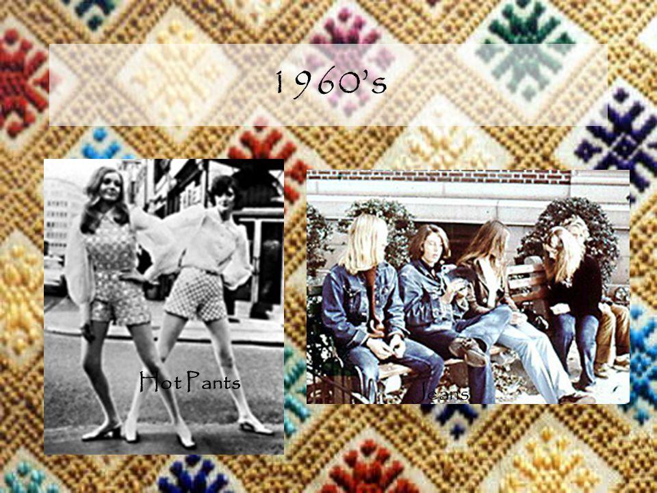 1960s Hot Pants Jeans
