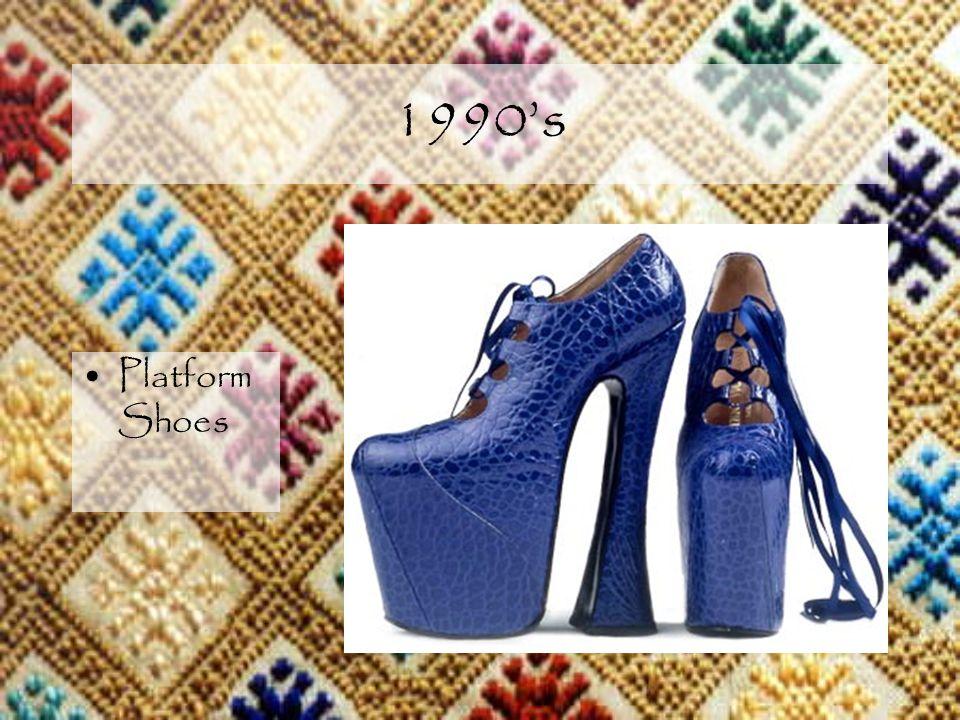 1990s Platform Shoes
