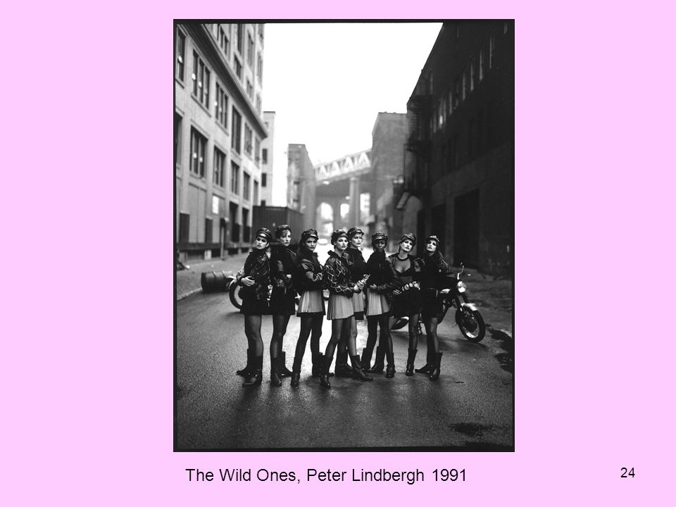 24 The Wild Ones, Peter Lindbergh 1991