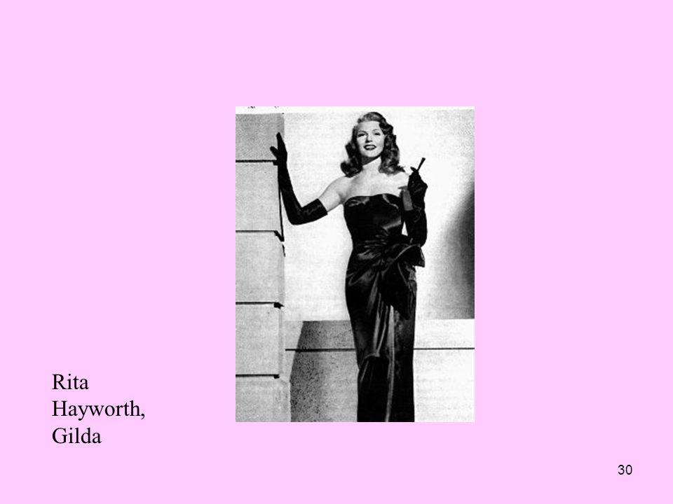 30 Rita Hayworth, Gilda