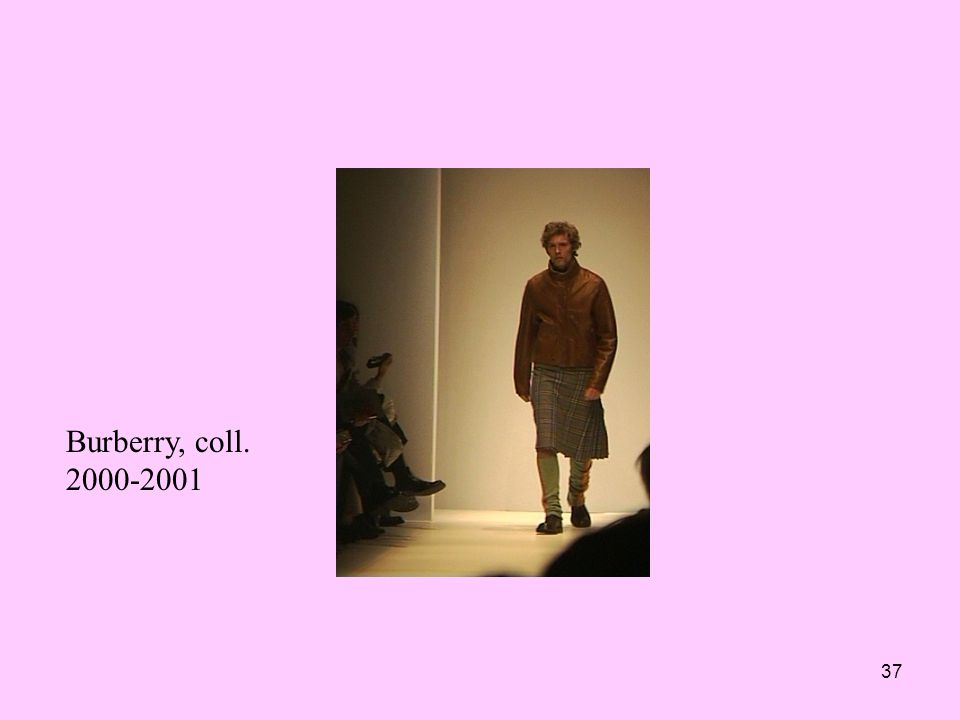 37 Burberry, coll. 2000-2001