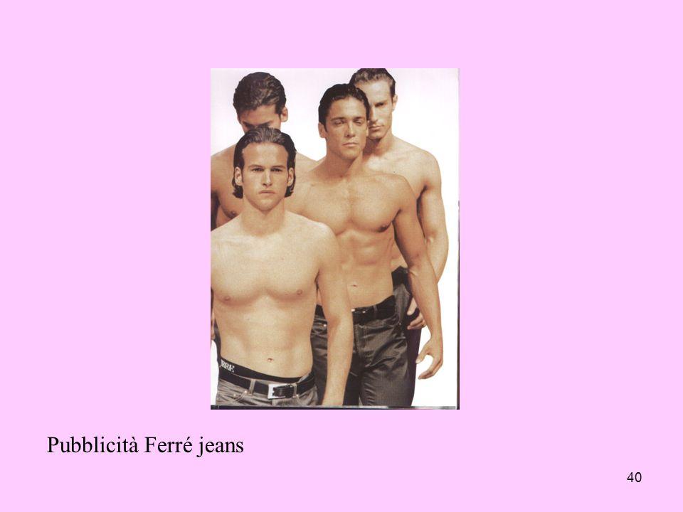 40 Pubblicità Ferré jeans