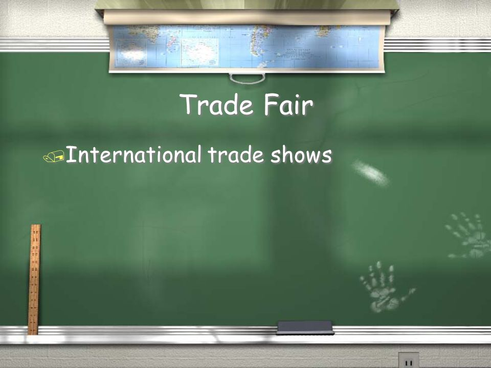 Trade Show / Group of manufacturers presenting their lines to retailers and press one to four times each year