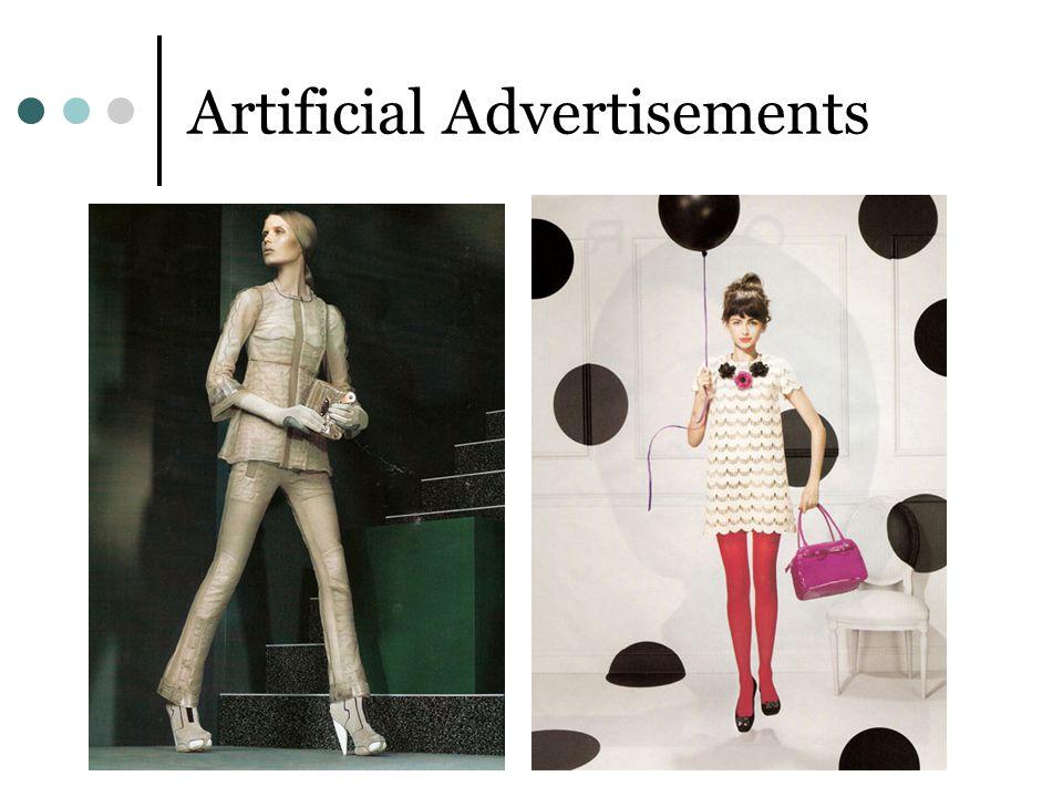 Artificial Advertisements