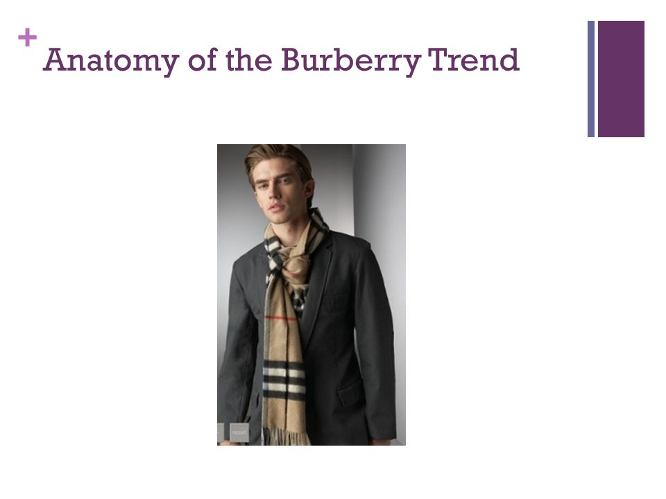+ Anatomy of the Burberry Trend