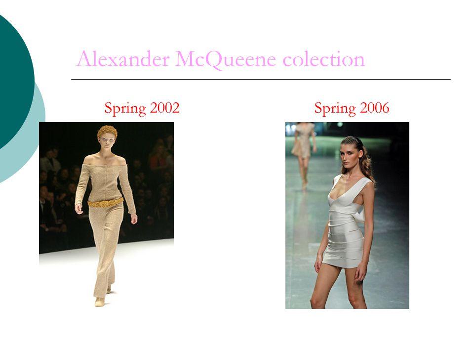 Alexander McQueene colection Spring 2002 Spring 2006