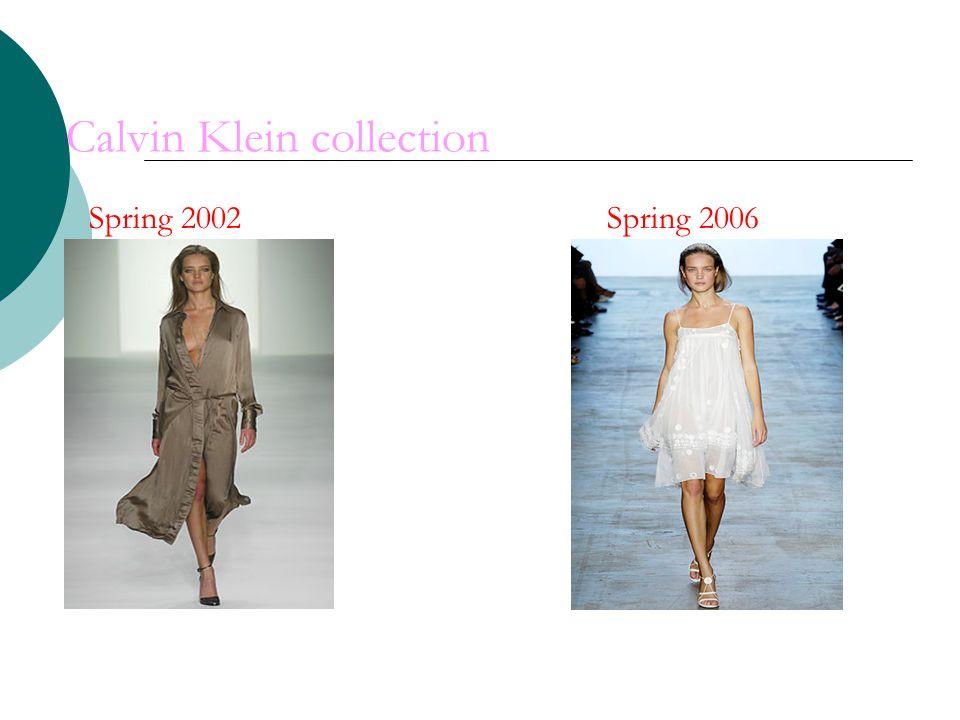 Calvin Klein collection Spring 2002 Spring 2006