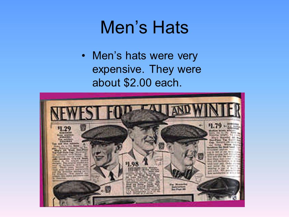 1920s Womens Hat Styles These hats were worn by women and young girls.
