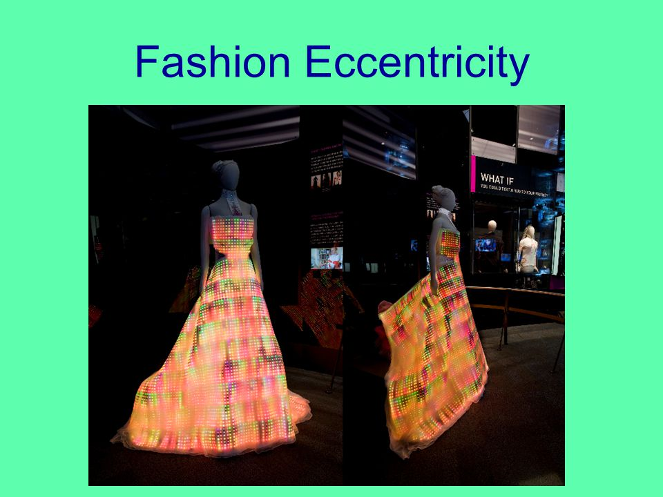 Fashion Eccentricity