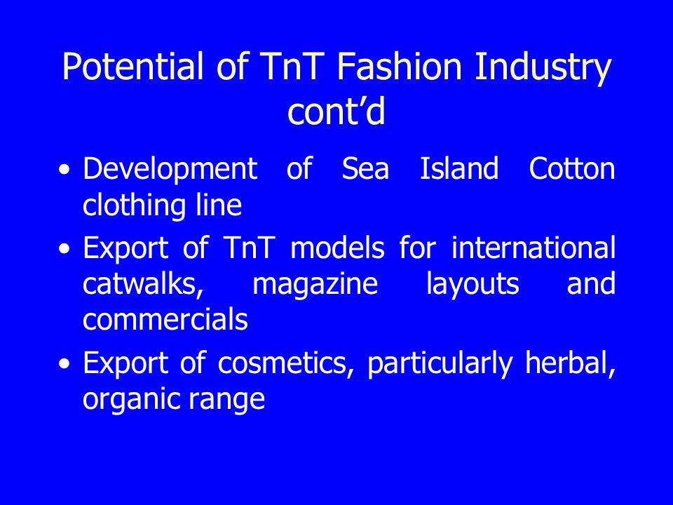 Novel Areas for TnT Fashion Industry Creative fashion Convergence fashion Old Gold fashion Virtual fashion Creative design
