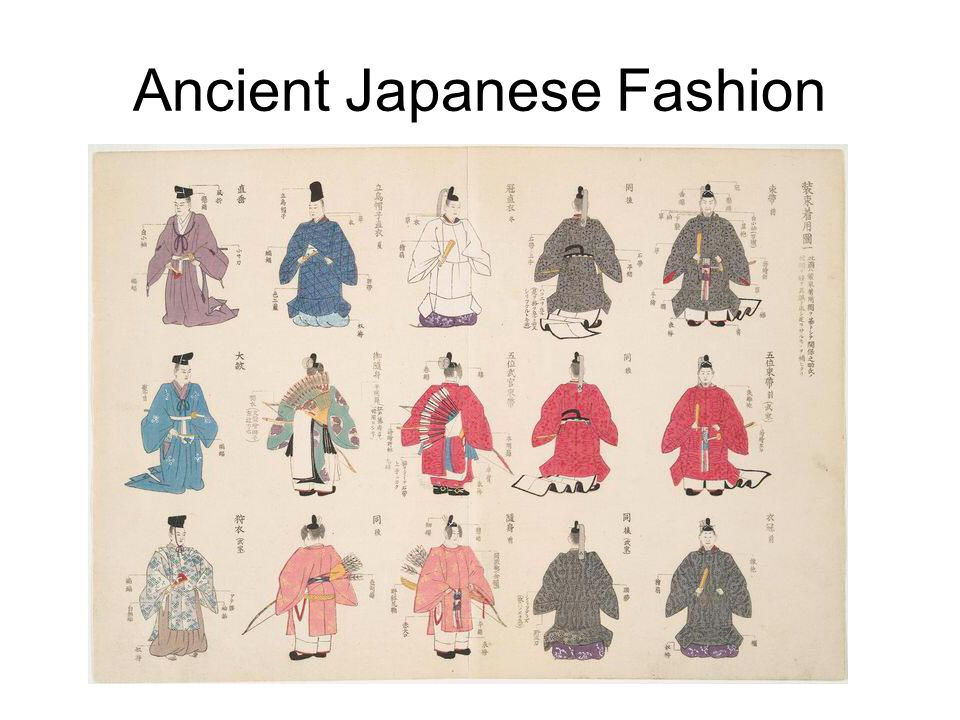 Ancient Japanese Fashion