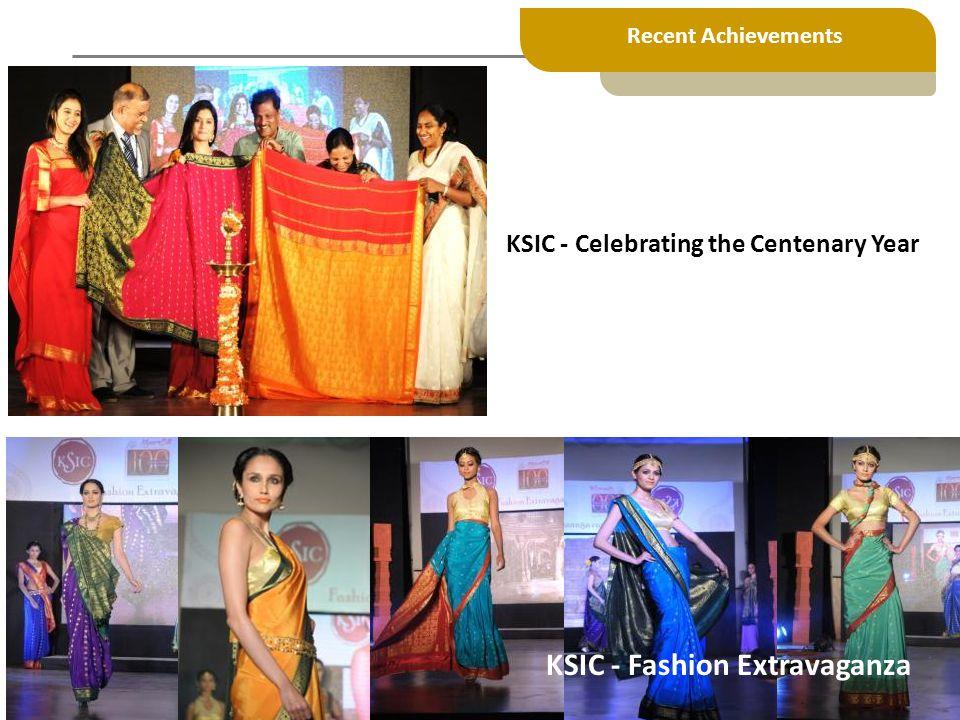 KSIC - Fashion Extravaganza KSIC - Celebrating the Centenary Year Recent Achievements