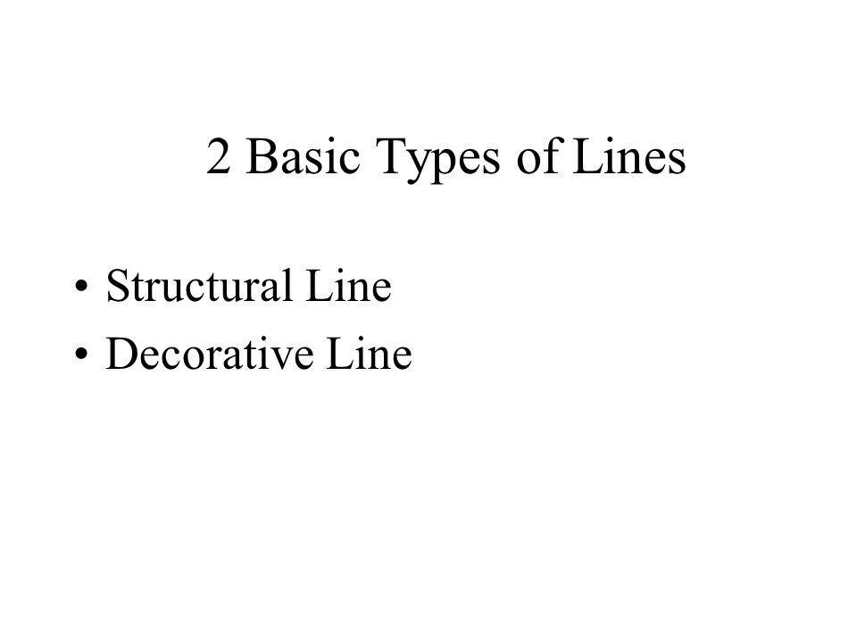 Structural Line- What is needed to make a garment fit and is necessary for basic construction.