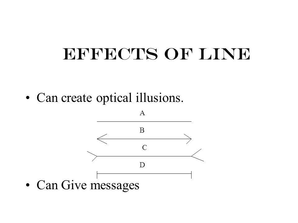 Construct a paragraph using this picture as an example of line.
