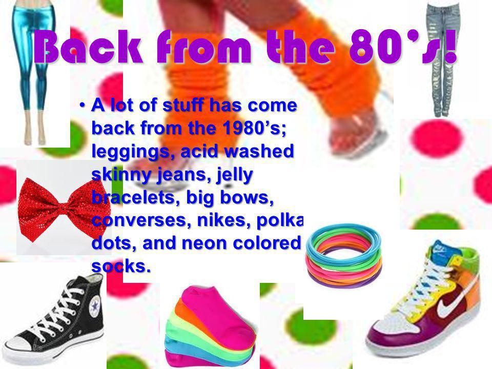 80s Fashion By :Jamie Salaman Rodriguez